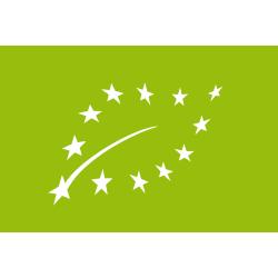 Das EU Biolabel ist ein Europäisches Label, das auf dem Aloe Vera BioUrsaft von PHARMOS NATUR ist.